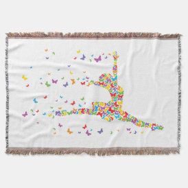 Butterfly Dancer Throw
