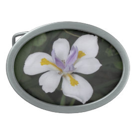 Butterfly Iris - Belt Buckle