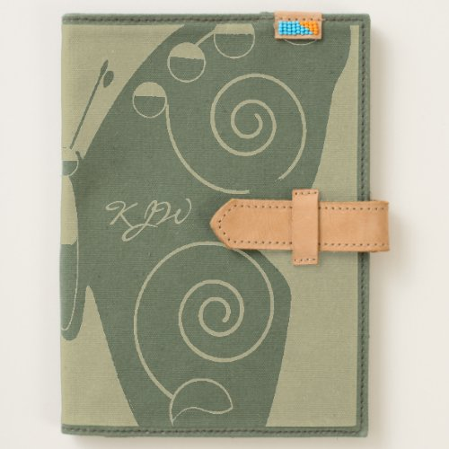 Butterfly Monogram Journal