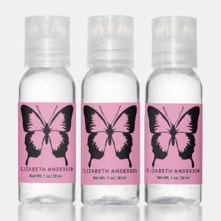 Butterfly Personalized Hand Sanitizer