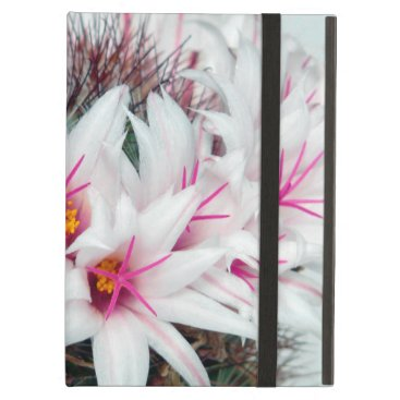 Cactus White Flowers 1 Powiscase Case For iPad Air