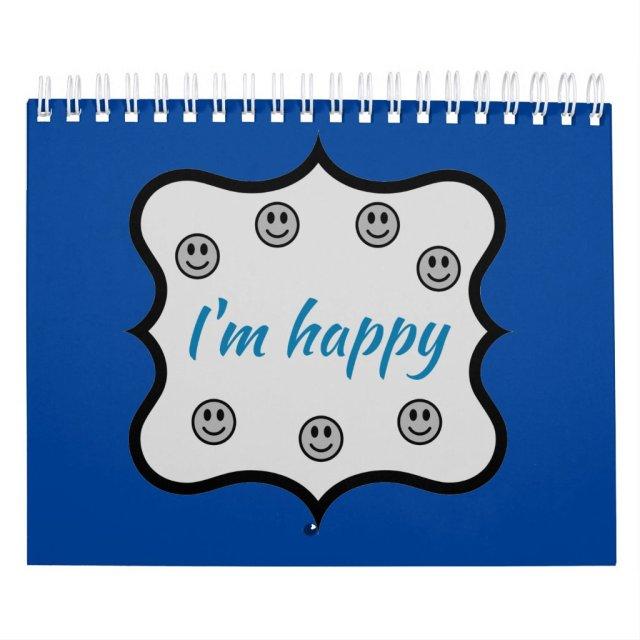 Calendario Estoy feliz | I'm happy