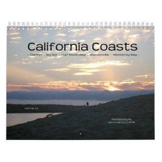California Coastline - Calendar