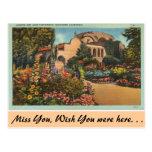 California, Mission San Juan Capistrano Postcard