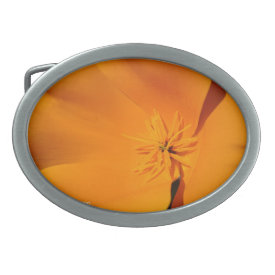 California Poppy - Belt Buckle