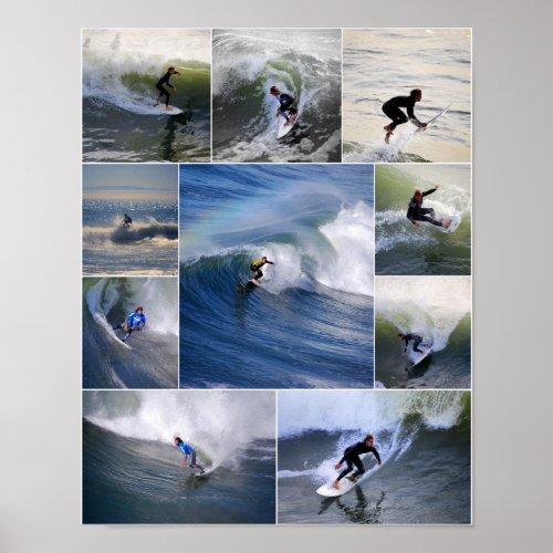 California Surfers Poster print