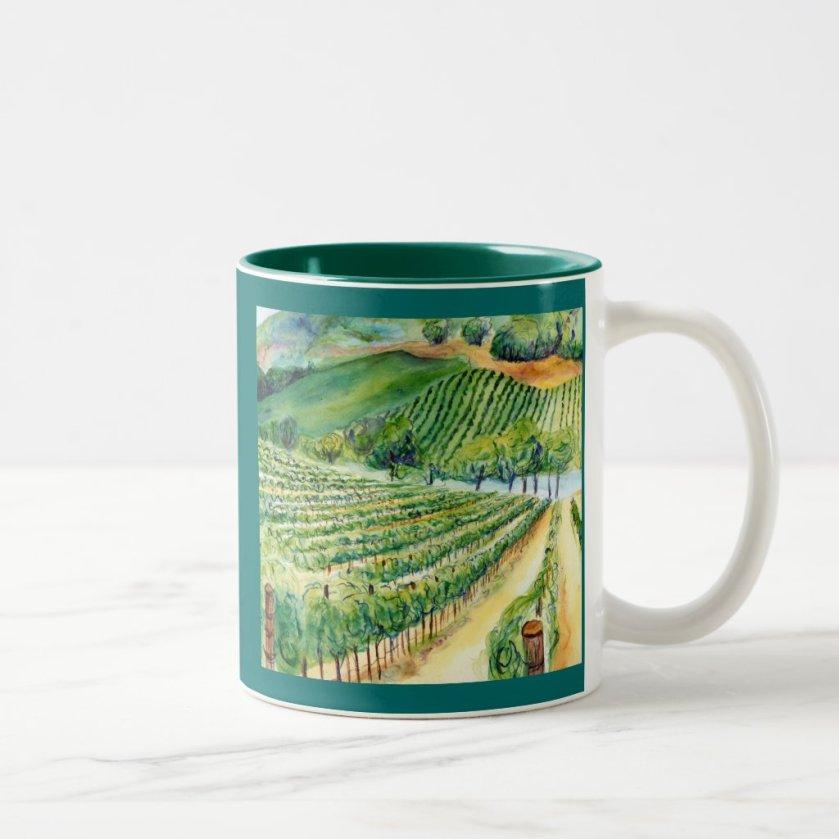California Vineyard Mug