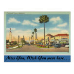 California, Westwood Village Postcard