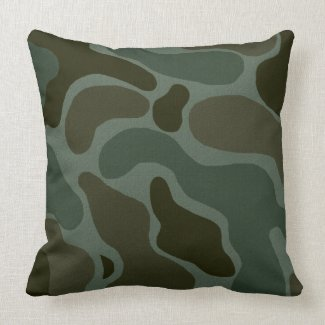 Camouflage Pillow