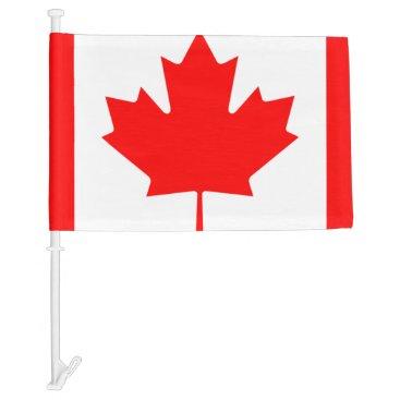 canada car flag