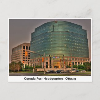 Canada Post Headquarters postcard