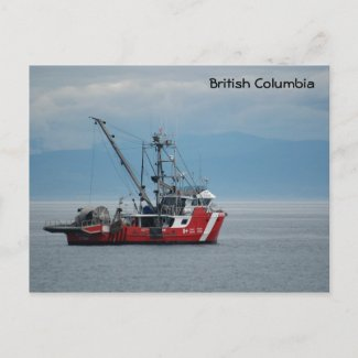 Canadian Coast Guard postcard