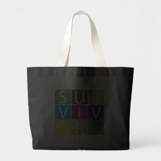 Cancer Survivor Tile Non-Hodgkins Lymphoma bag