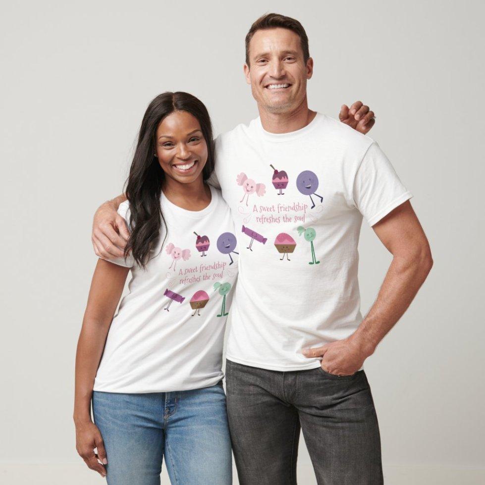 Candy Best Friend T-Shirt