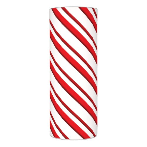 Candy Stripes, peppermint red & white Flameless Candle