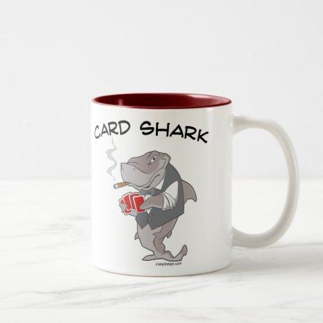 Card Shark Two-Tone Coffee Mug