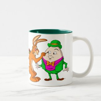 Cartoon Humpty Dumpty mug mug