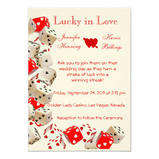 Las Vegas Invitation Wedding Template