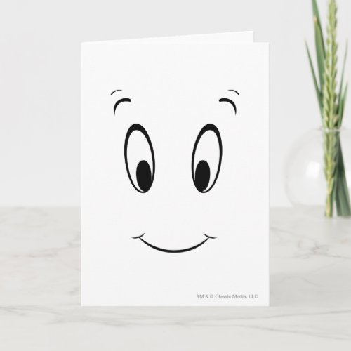 Casper Smiley Face Card