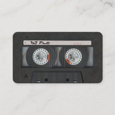 Cassette Tape Business Cards for DJ's
