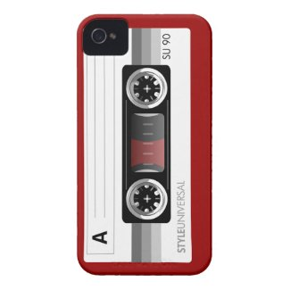 Cassette tape label gray iPhone 4s iPhone 4 Cases