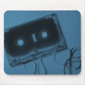 Cassette Tape Mousepad (Blue)