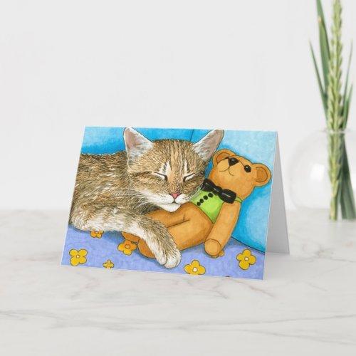 cat 380 Note Card