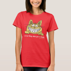 Cat Does Bad Things When You Sleep T-Shirt