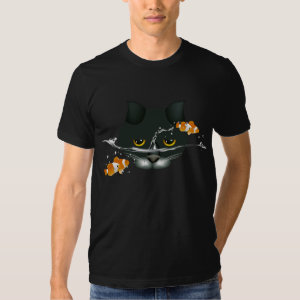 Cat in Fish Bowl T-Shirt
