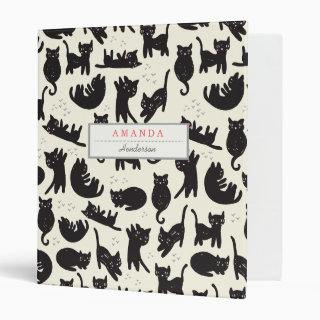 Cat Lady Custom Binder