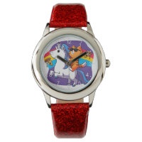 Cat Riding a Unicorn - funny cat Watch