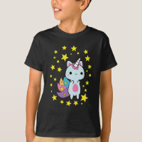 Caticorn Cat Unicorn Kittycorn T-Shirt