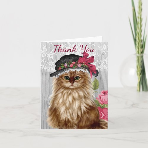 Cats dressed in Hats Notecards
