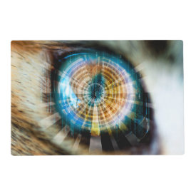 Cats Eye HUD Laminated Place Mat