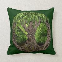 Celtic Tree Of Life Throw Pillow