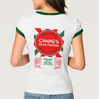 Chang's Pizza Pagoda Tee
