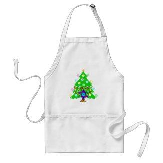 Chanukkah and Christmas apron