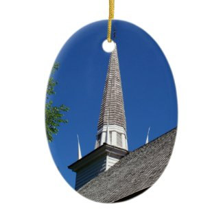 Chapel Steeple Ornament ornament