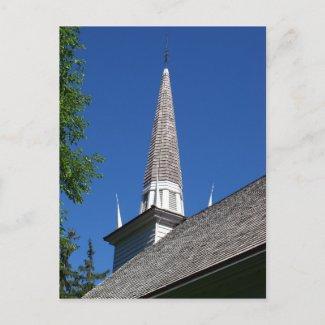 Chapel Steeple Postcard postcard