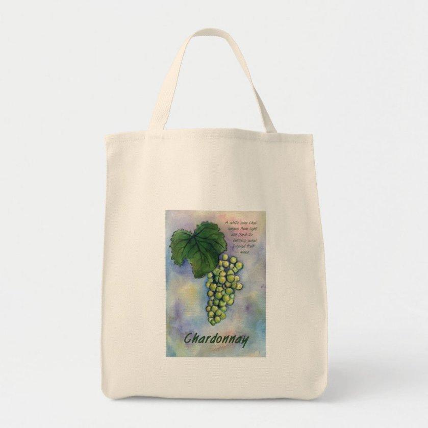 Chardonnay Wine Grapes & Description Bag