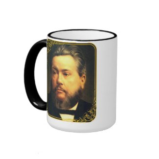 Charles Spurgeon Large Vintage Mug mug