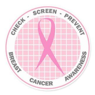 Check-Screen-Prevent - Sticker sticker