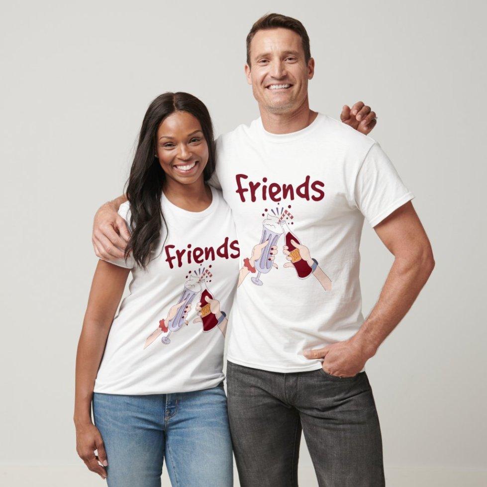Cheers Friends T-Shirt