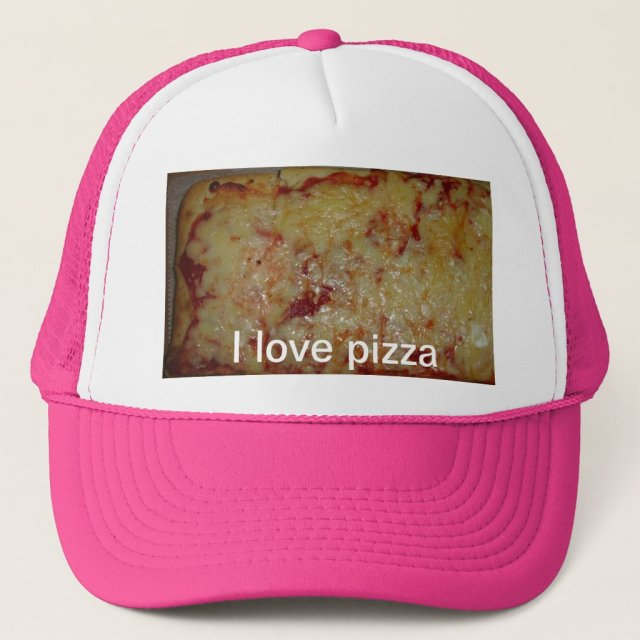 Cheese Pizza Trucker Hat