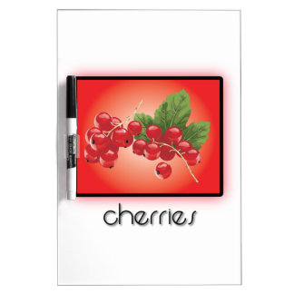 Cherries Dry Erase Whiteboard