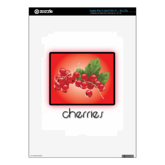 Cherries iPad 3 Decal