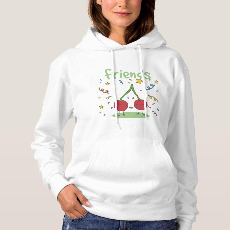 Cherry Best Friend Hoodie