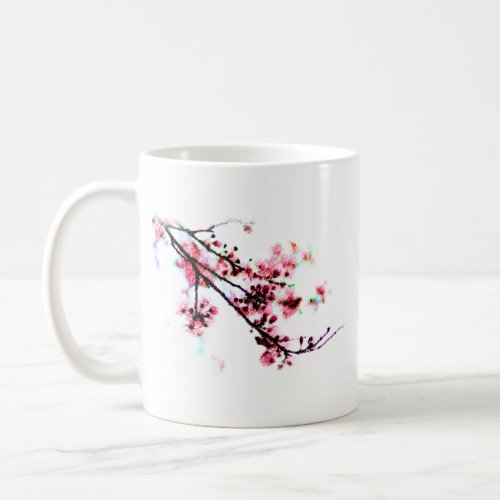 Cherry Blossom Painting mug