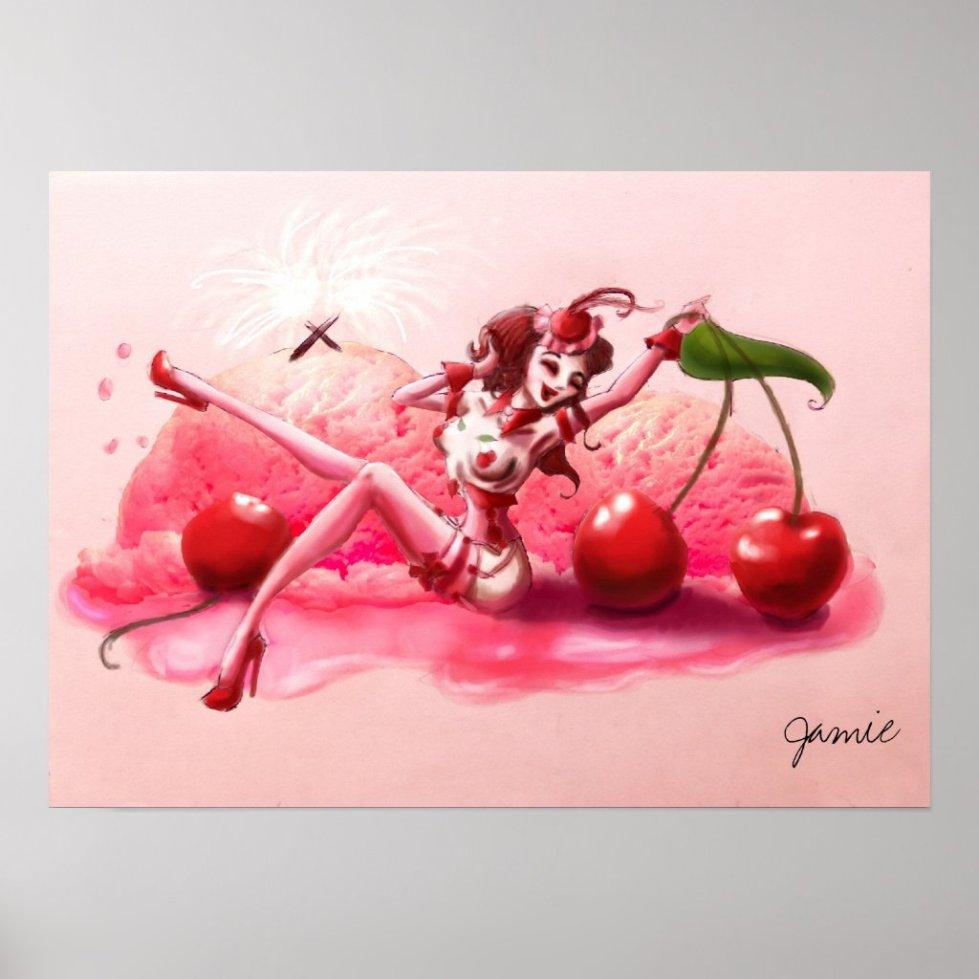 Cherry Jubilee Poster