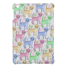 Chihuahua Lover Colorful Pattern Cover For The iPad Mini